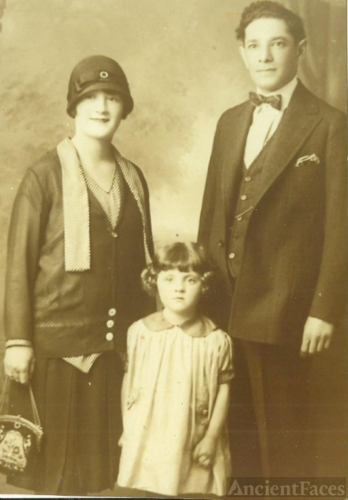 Martha, Alfred, and Mildred Kegel
