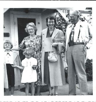 Peggy Nietzie and family