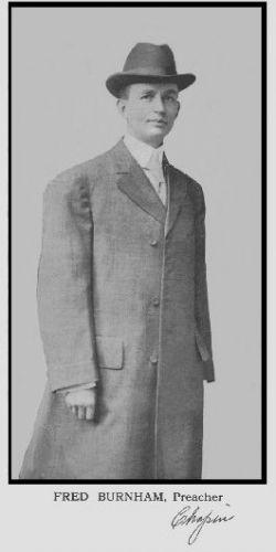 Fred Burnham, Preacher - Chapin