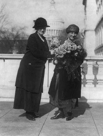 Alice Robertson & Winifred Mason Huck