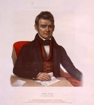 John Ross, a Cherokee chief
