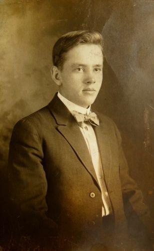 A photo of Carl Axel Alfredson