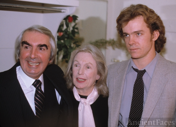 Milo O'Shea, Geraldine Fitzgerald, and Michael O'Keefe