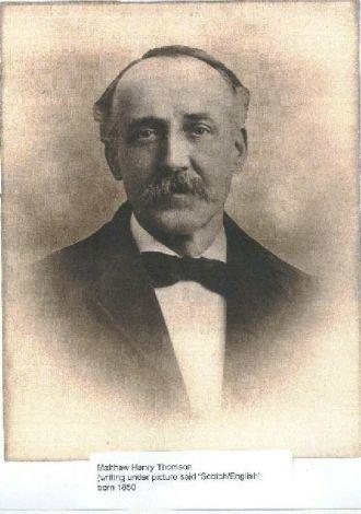 Matthew H Thomson
