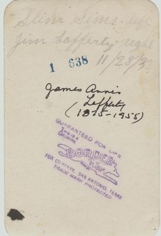 Jim Lafferty_Slim Sims 1932sa