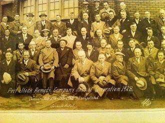 Peet Stock Remedy Company- 1928