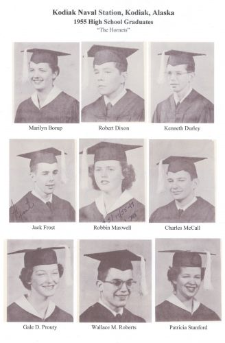 1955 Kodiak Naval High School