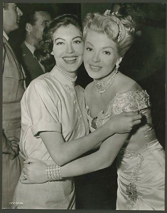 Ava Lavinia Gardner and Lana Turner