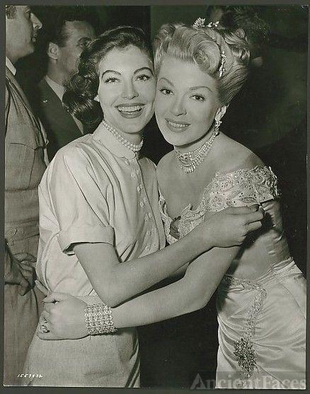 Ava Lavinia Gardner and Lana Turner