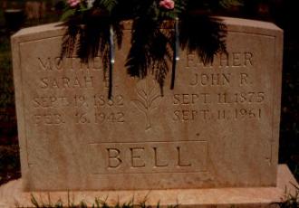 John Riley Bell Gravesite