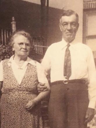 Bartley and Bridget Brett 1930s