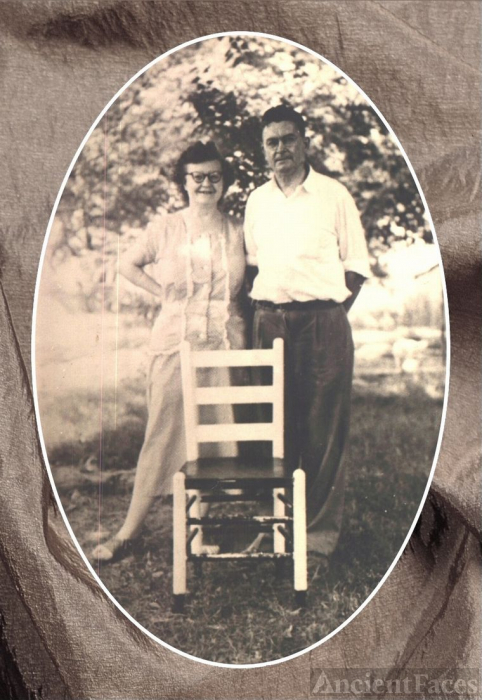 Lillian Patton  & Denver Purdy, 1950's Kentucky