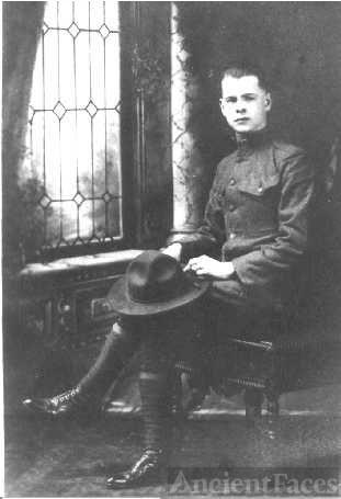 Grandfather Garber, WW1 1919