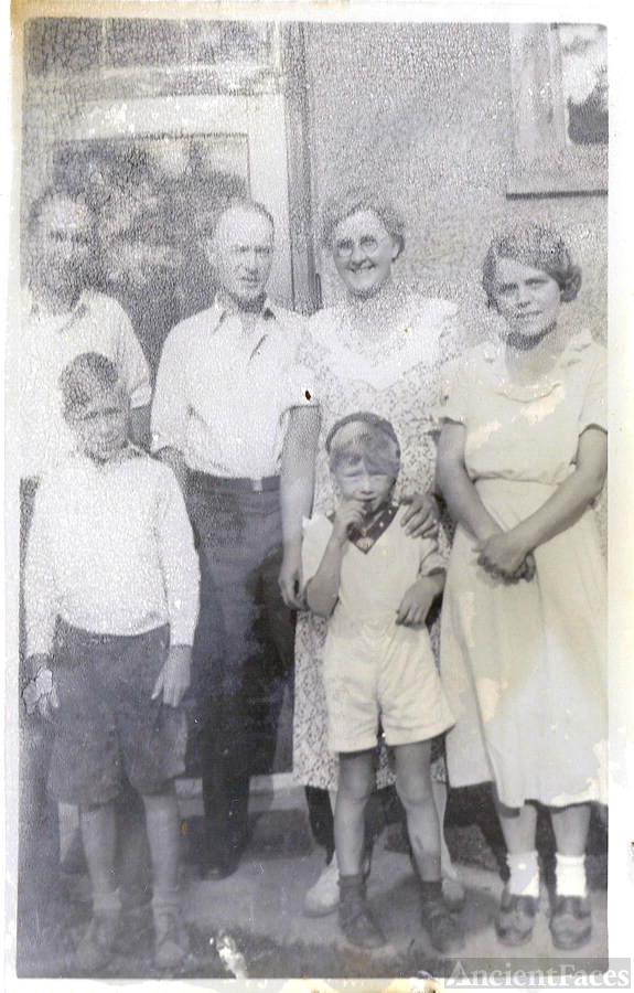 Woodbury - three generations, Chautauqua, NY