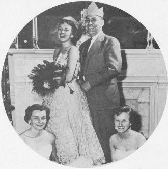 Maxine Shay, Hospital Spring Dance, KY, 1955