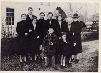 Jennings & Merwins family group
