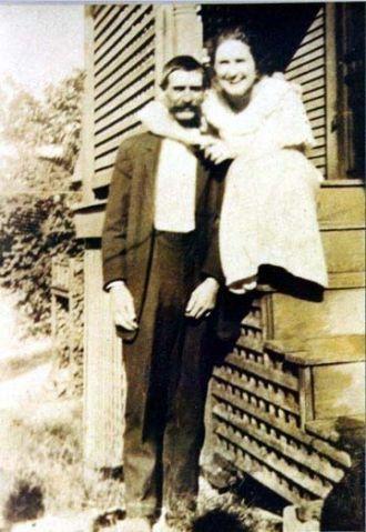 Hiram Brandon Patton & Ida Keeling, IL 1895