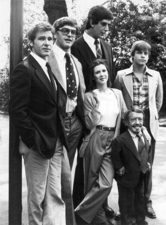 Star Wars Cast circa 1977