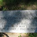 John McGuire Grave
