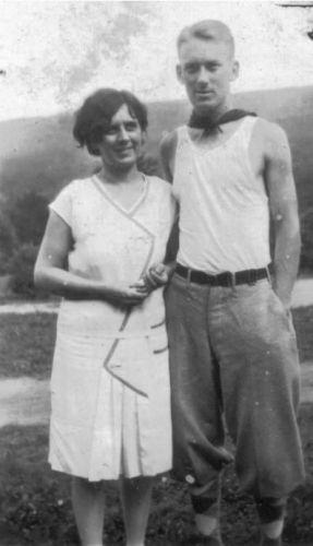 Fran & Cecil 1928