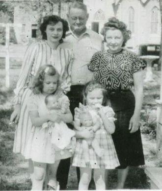 Members of the Brockman Family