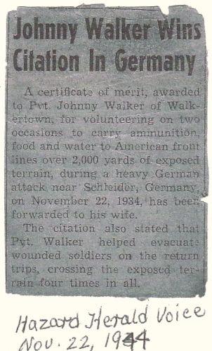 Johnny Walker Wins Citation in Germany
