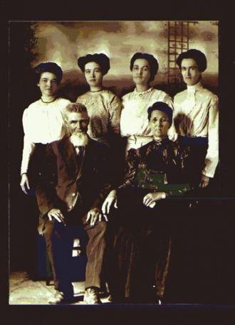 Samuel Sprague&wife Sarah (Record) Sprague  family