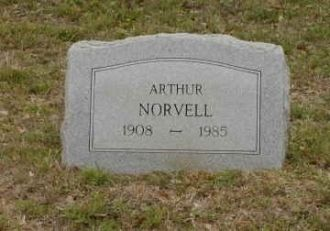 Arthur Norvell's Headstone