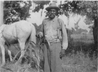Abe Livingston, ex-slave, Beaumont