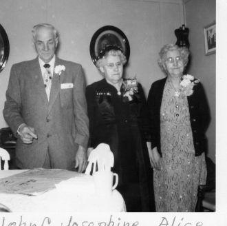 John &Josephine (Deschene) Rasmussen anniversary