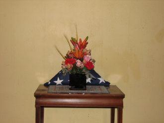 Lisle E Crowder Flag