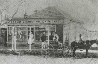 Krauss Chemist Shop Grafton