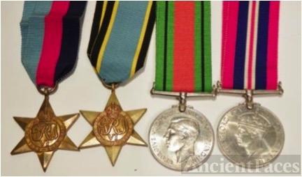 Bernard Stephen Lyons' medals