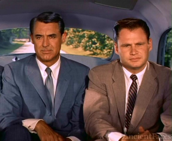 Adam Williams and Cary Grant