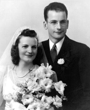 Vernand and Elizabeth (Elsen) Barthel, 1941