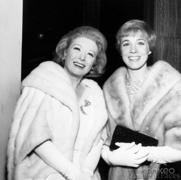Greer Garson and Julie Andrews