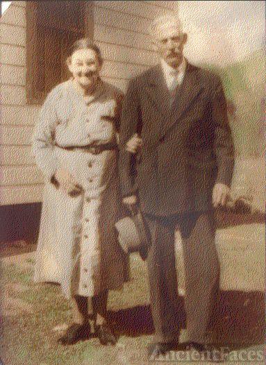 Harrison Osborne and wife Callie Jane Graybeal