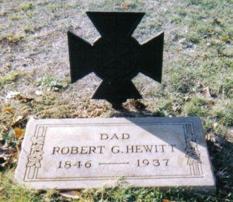 Robert Greene Hewitt Grave