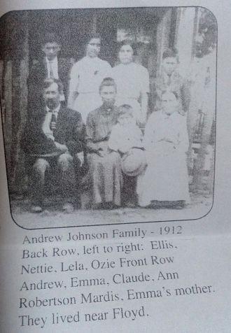 Ann Margaret (Roberson) Mardis Family