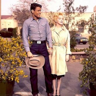 William Inge and Marilyn Monroe