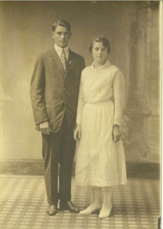 Horace Leon Titsworth-Mary Edith Green Wedding