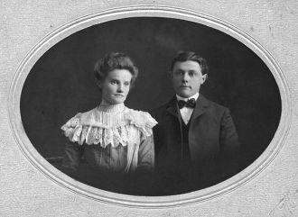 Elsie Waldron Tonkin and Amos Tonkin