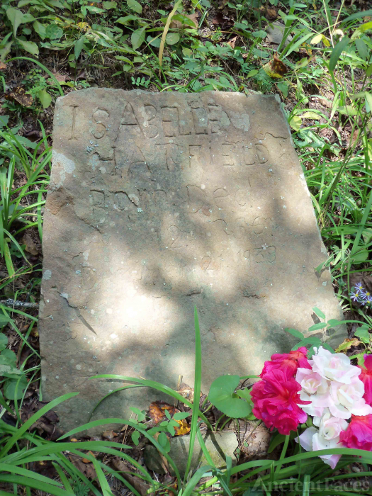 Isabella (Lester) Hatfield Grave, West Virginia