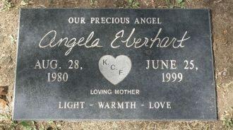 Angela M Eberhart gravesite