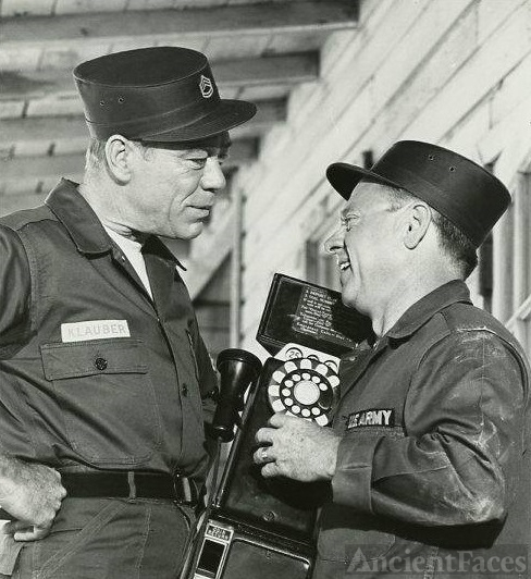 Dort W Clark and Mickey Rooney