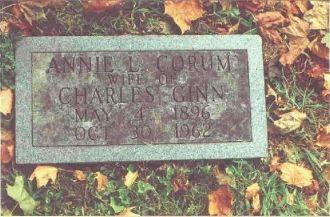 Annie Corum Gravestone-Old Gray Cem.