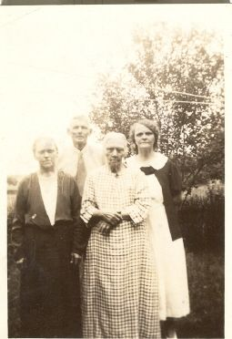 Margaret Anna Ida and Harry Carr