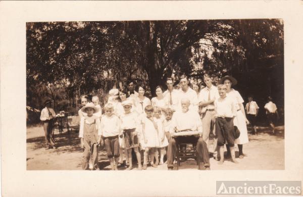 James E. Bowen birthday party