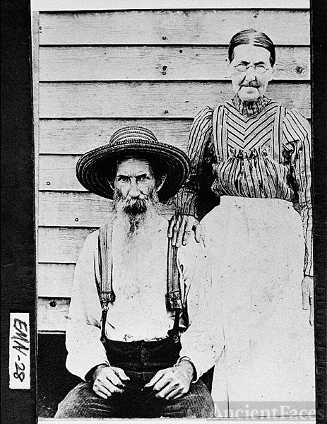 Augustus Lewis Cowart and his wife, Nancy Ann L. Barwick Cowart,
