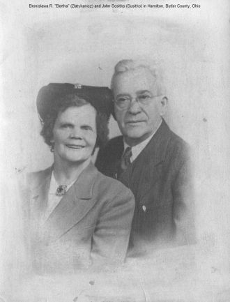 Bertha and John Sositko